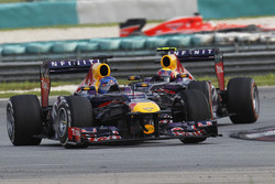 Sebastian Vettel, Red Bull Racing RB9, Mark Webber, Red Bull Racing RB9