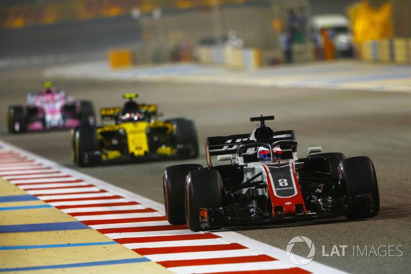 13e : Romain Grosjean (Haas F1)