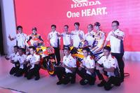 Marc Marquez, Repsol Honda Team, Dani Pedrosa, Repsol Honda Team with Astra Honda Motor members