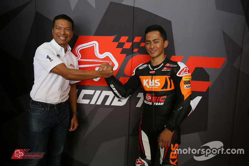 Zulfahmi Khairuddin, SIC Racing Team