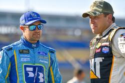 Ricky Stenhouse Jr., Roush Fenway Racing, Ford Fusion Fifth Third Bank, Ryan Newman, Richard Childress Racing, Chevrolet Camaro Caterpillar