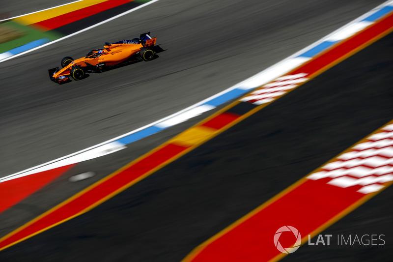 11: Fernando Alonso, McLaren MCL33, 1'13.657