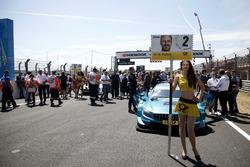 Grid girl van Gary Paffett, Mercedes-AMG Team HWA