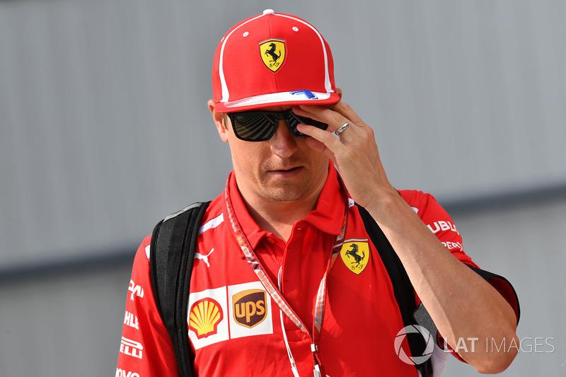 """Kimi Raikkonen: """"Realmente não parece uma corrida muito boa, mesmo tendo chegado em terceiro lugar"""""""