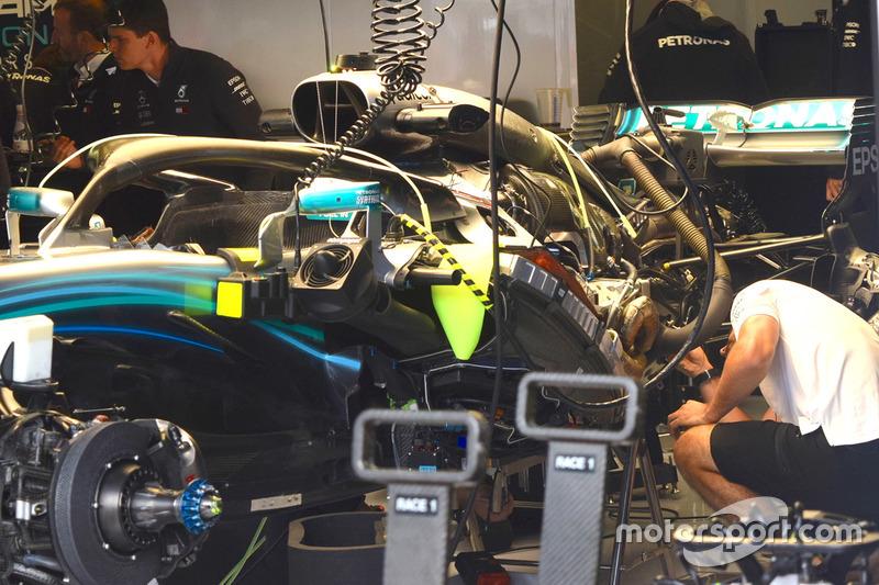 Mercedes AMG F1 W09, részlet