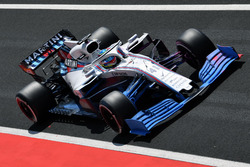 Oliver Rowland, Williams FW41 with aero paint on front wing