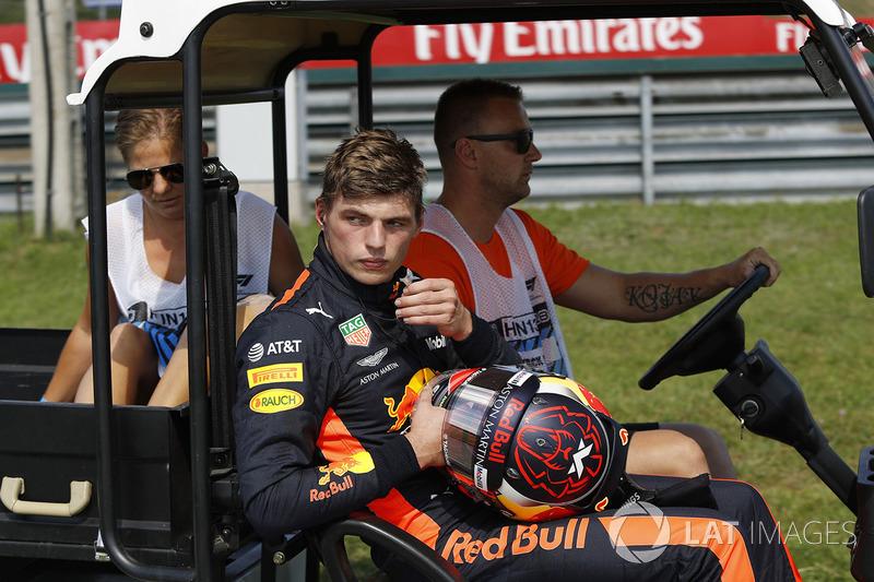 Макс Ферстаппен, Red Bull Racing, зійшов з гонки