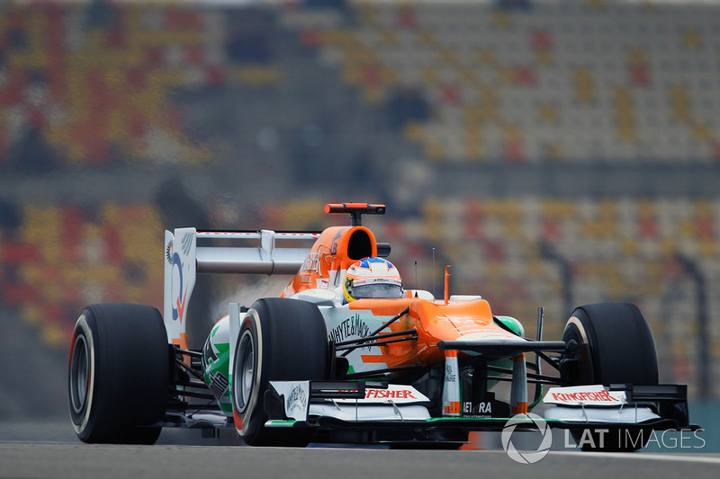 16.Paul di Resta, 59 GPs (2011-2013, 2017). Seu melhor resultado é o 4° (Singapura 2012 e Bahrein 2013).