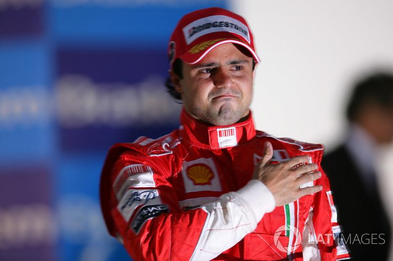 Podio: Felipe Massa, Ferrari