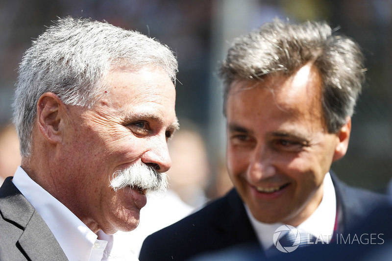 Chase Carey, CEO de Formula One