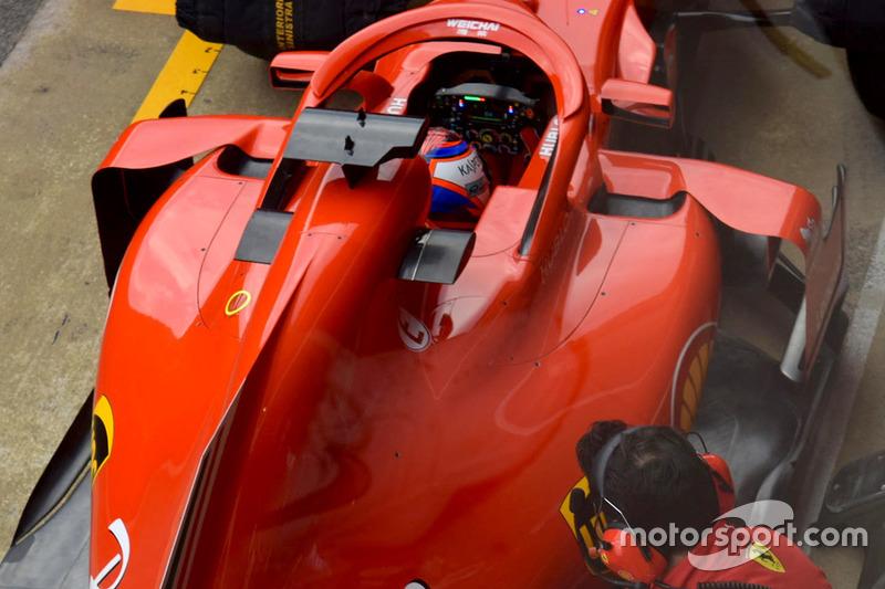 Понтоны Ferrari SF71H
