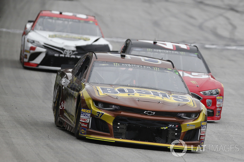 Chris Buescher, JTG Daugherty Racing, Chevrolet Camaro Bushs Beans