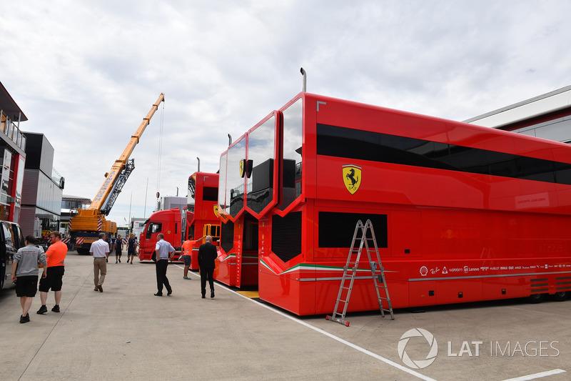 Camion Ferrari