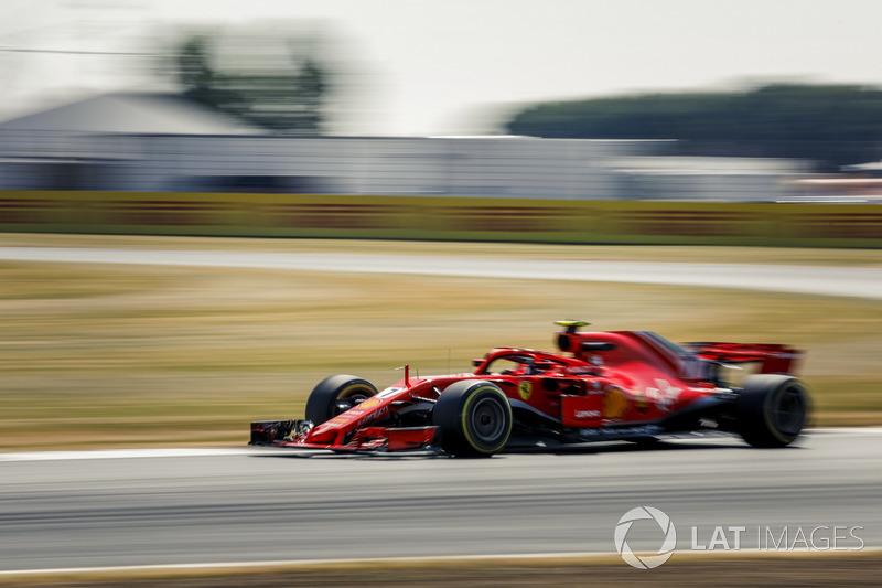 3. Kimi Räikkönen, Ferrari SF71H
