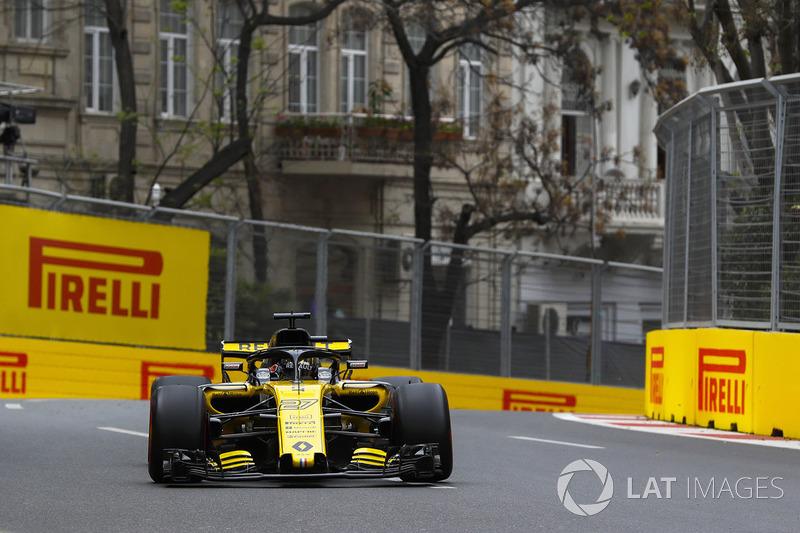 14. Nico Hulkenberg, Renault Sport F1 Team R.S. 18 (termasuk penalti lima grid)