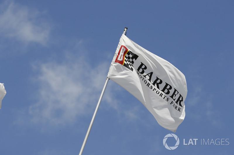 Un drapeau de Barber