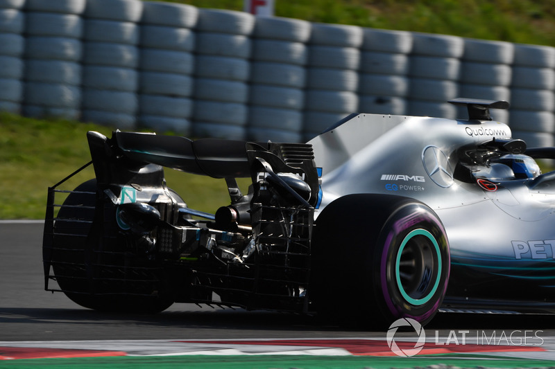 Valtteri Bottas, Mercedes-AMG F1 W09 aero sensörü