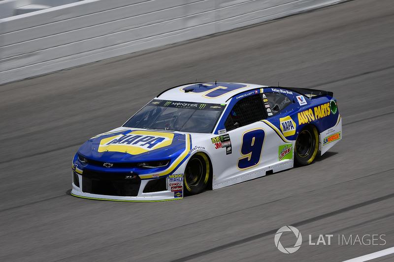 17. Chase Elliott, Hendrick Motorsports, Chevrolet Camaro NAPA Auto Parts