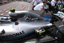 Mercedes-AMG F1 W09, dettaglio del cofano motore