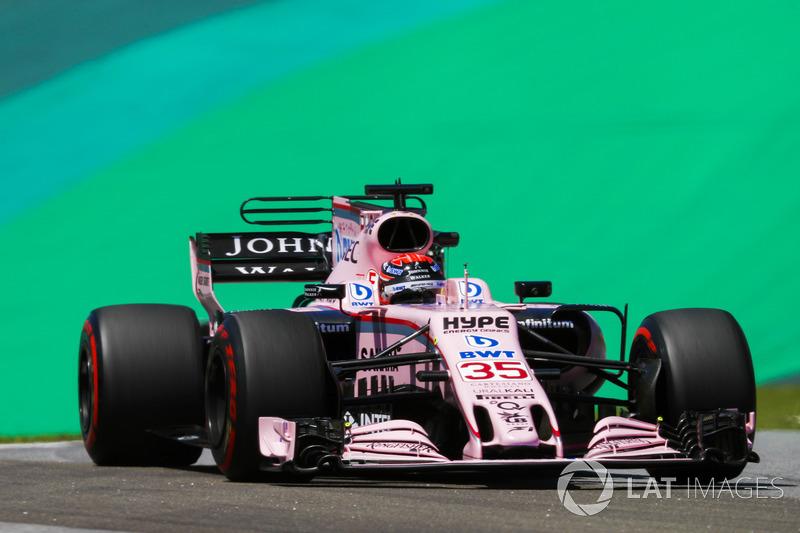Протеже Mercedes Джордж Расселл о странном поведении машины Force India
