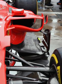 Ferrari SF70H, sidepod
