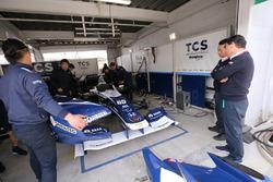 Takuya Izawa, Nakajima Racing, Satoru Nakajima