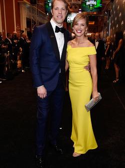 Brad Keselowski ve eşi Paige