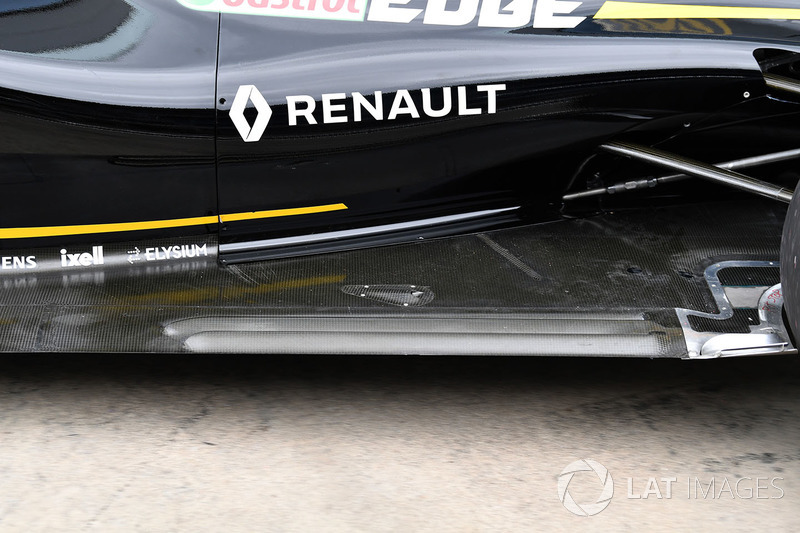 Renault Sport F1 Team R.S. 18 rear floor detail
