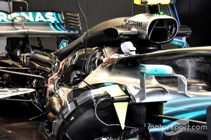 Mercedes AMG F1 W09 motor