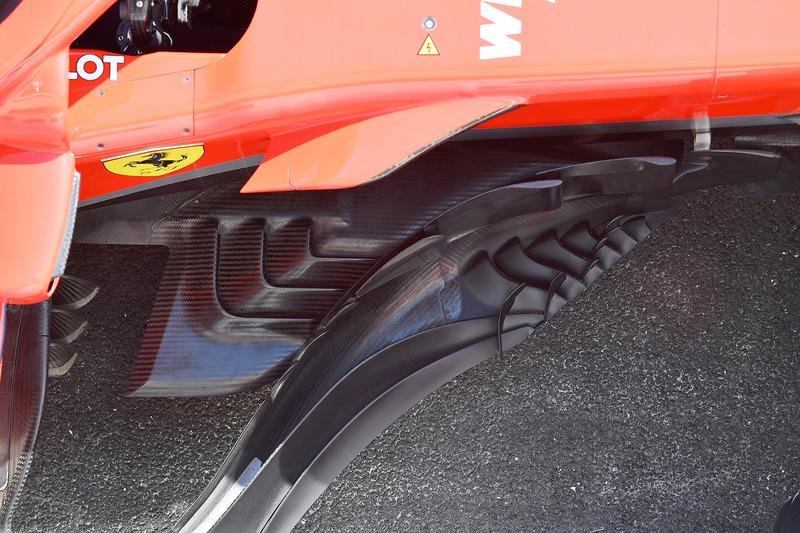 Боковой дефлектор Ferrari SF71H