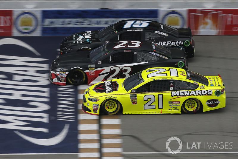 Paul Menard, Wood Brothers Racing, Ford Fusion Menards / Jack Links Gray Gaulding, BK Racing, Toyota Camry