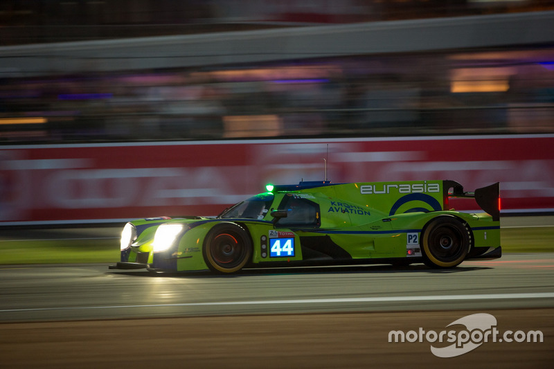 27: #44 Eurasia Motorsport Ligier JSP217 Gibson: Andrea Bertolini, Nic Jönsson, Tracy Krohn