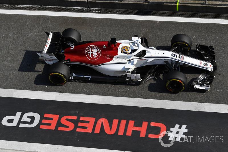 16e : Marcus Ericsson (Alfa Romeo Sauber)