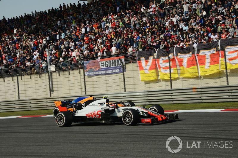 10e Kevin Magnussen, Haas F1 Team VF-18