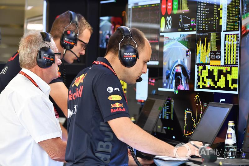 Gianpiero Lambiase, Red Bull Racing ingénieur de course
