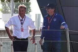 Jean Alesi, father of Giuliano Alesi, Trident and Nelson Piquet, padre de Pedro Piquet, Trident