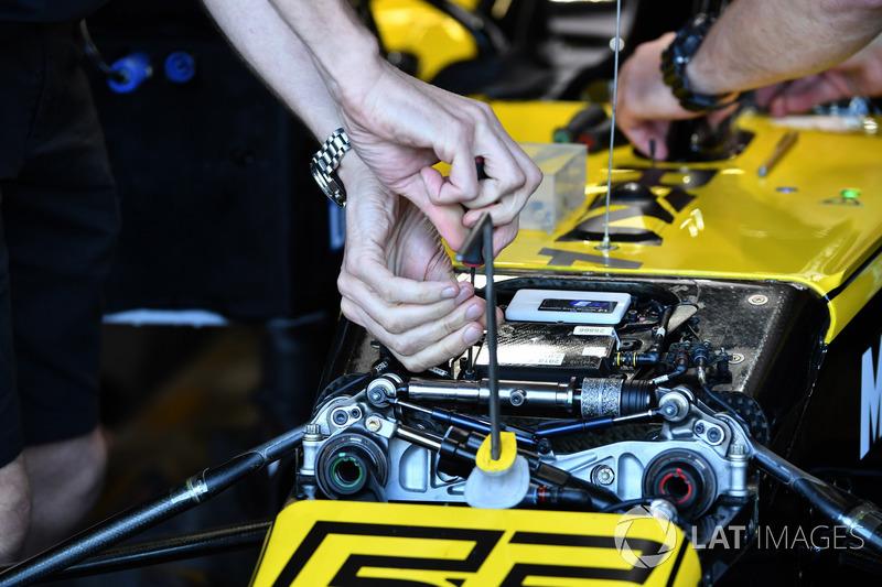 Передняя подвеска Renault RS18