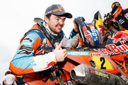 Le vainqueur moto Matthias Walkner, Red Bull KTM Factory Team