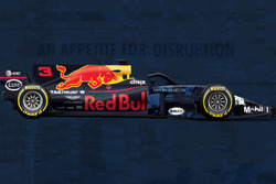 Comparación Red Bull RB 13 vs. RB 14