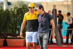 Carlos Sainz Jr., Renault Sport F1 Team et Pedro De La Rosa