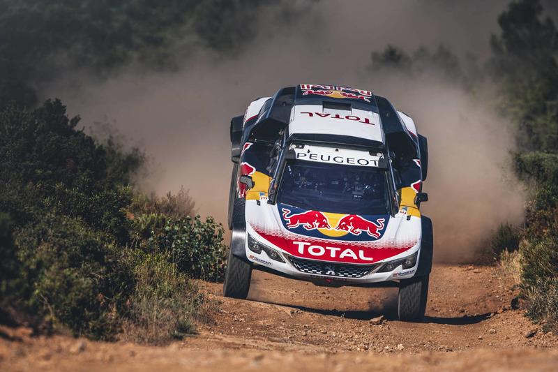 Карлос Сайнс, Peugeot 3008DKR Maxi