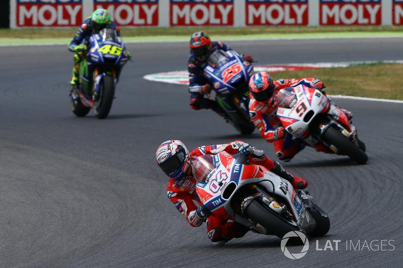 Андреа Довициозо, Ducati Team leads