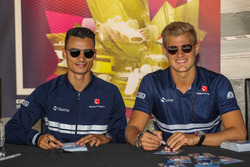 Pascal Wehrlein, Sauber and Marcus Ericsson, Sauber