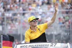 Nico Hulkenberg, Renault Sport F1 Team, pilotlar geçit töreni