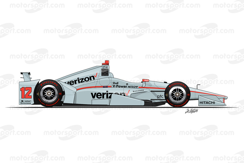 #12 - Will Power, Team Penske Chevrolet