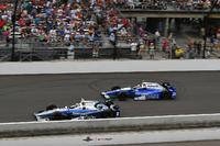 Max Chilton, Chip Ganassi Racing Honda, Takuma Sato, Andretti Autosport Honda