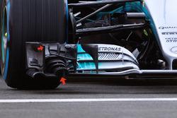 Переднє антикрило Mercedes AMG F1 W08