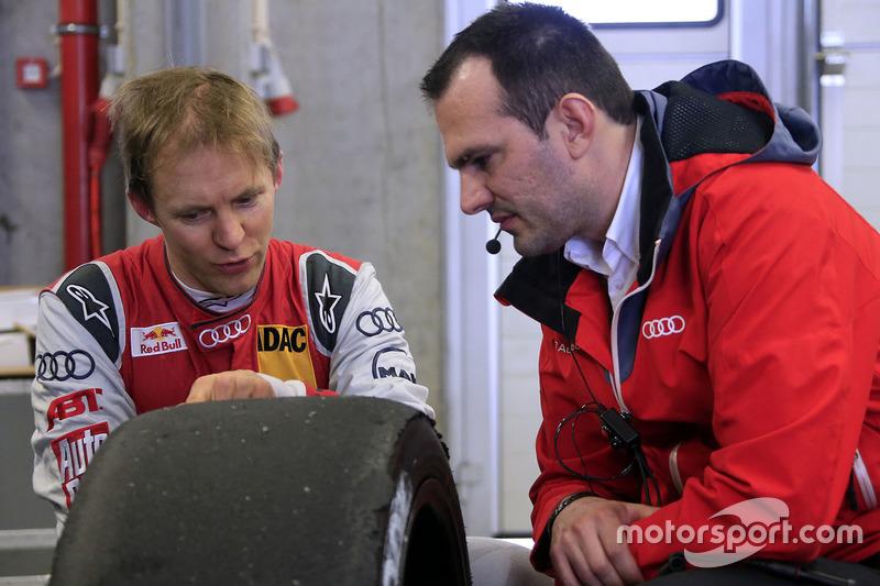 Mattias Ekström mit Florian Modlinger, Audi