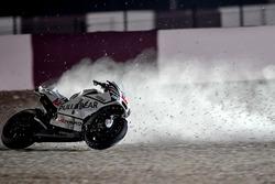 Авария: Карел Абрагам, Aspar MotoGP Team