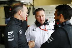 Jonathan Neale, Managing Director, McLaren, Zak Brown, Executive Director, McLaren Technology Group